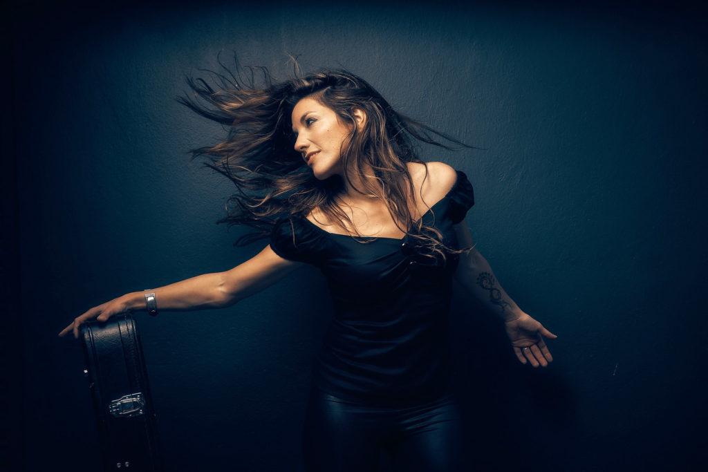 Alejandra Burgos, sesiones Out of my Blue - Foto: Miguel Prado