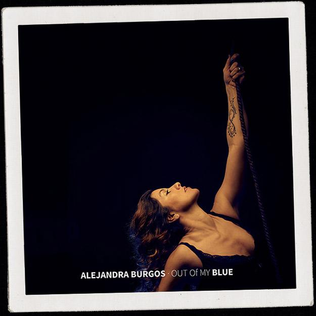 Alejandra Burgos - Out of my Blue cd cover