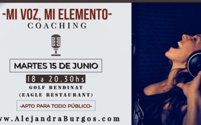 Coaching – Mi Voz, Mi Elemento