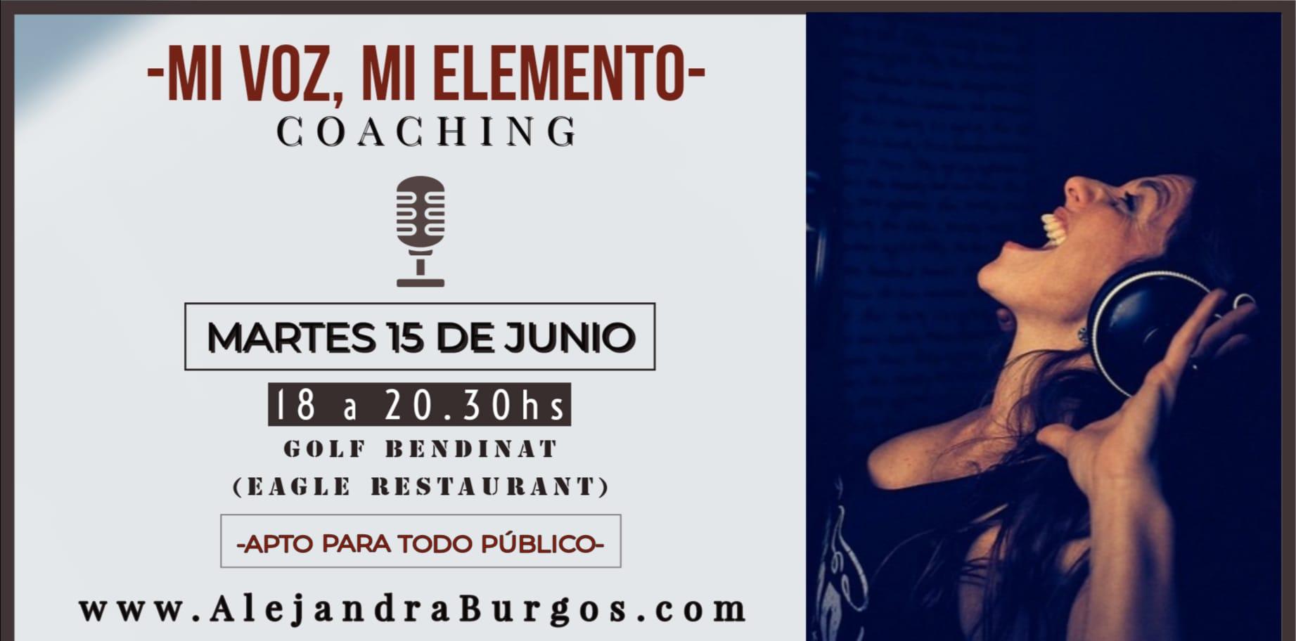 Coaching- Mi Voz, Mi Elemento